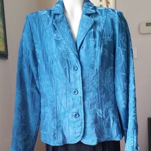 Erin Blue Tapestry Jacket